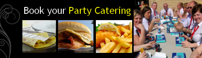 book your burger, crepe or fish and chip catering now button