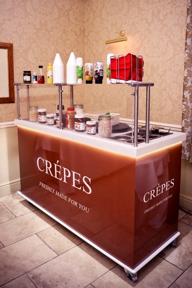 crepe cart caterer