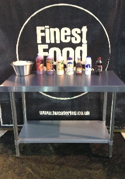 Finest catering food banner