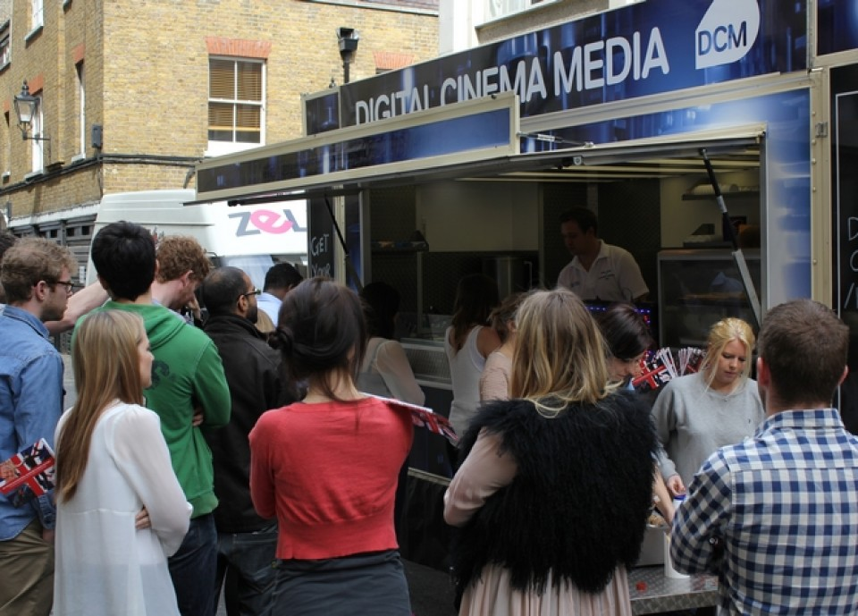 Promotional catering van hire