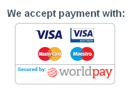 We take payment by Visa