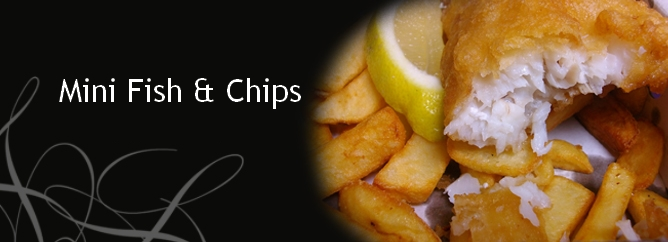 Mini Fish & Chips Banner