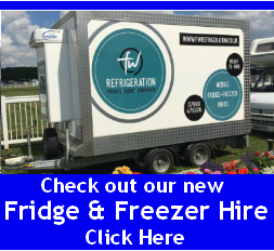 Fridge and freezer caterer hire icon