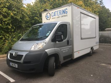 Catering van for hire